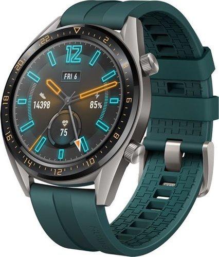 Умные часы Huawei Watch GT Active FTN-B19, темно-зеленые фото