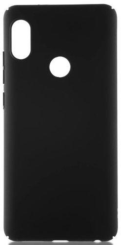 Чехол для смартфона Xiaomi Redmi Note 6 Pro силиконовый (матовый черный), BoraSCO фото