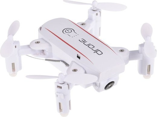 Квадрокоптер Linxtech IN1601 2.4G, камера 720P, белый фото