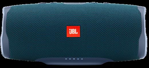 Колонка JBL Charge 4 синяя фото