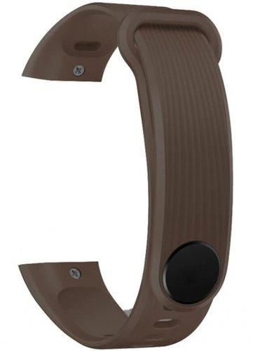 Ремешок силиконовый для Honor Band 3 коричневый фото