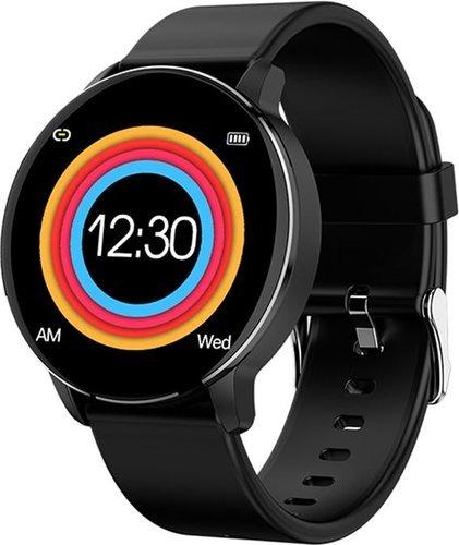 Умные часы Bakeey R5 силиконовый ремешок, черный фото