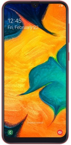 Смартфон Samsung (A305F) Galaxy A30 64Gb Красный фото
