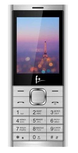 Мобильный телефон F+ B240 Серебристый фото