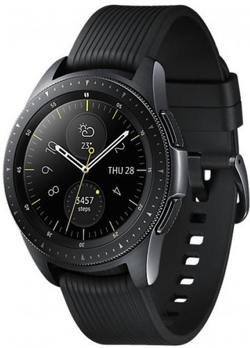 Умные часы Samsung Galaxy Watch 42мм, черные фото