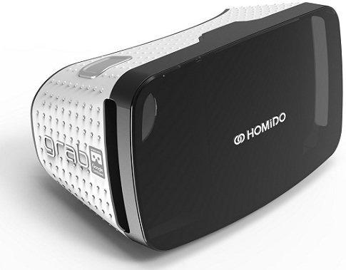 Очки виртуальной реальности Homido Grab белые фото