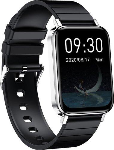 Умные часы Bakeey T10, серебристый фото