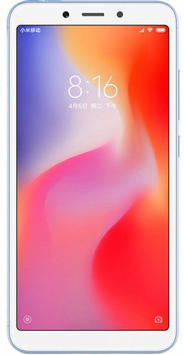Смартфон Xiaomi RedMi 6A 2/16Gb Blue (Голубой) EU фото