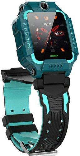 Детские умные часы Bakeey Q19, зеленый фото