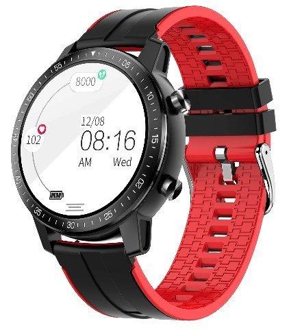 Умные часы Senbono S30, красный фото