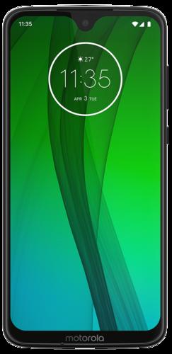 Смартфон Motorola Moto G7 Черный фото