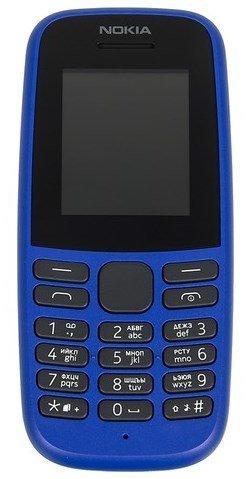 Мобильный телефон Nokia 105 Dual Sim (2019) Синий фото