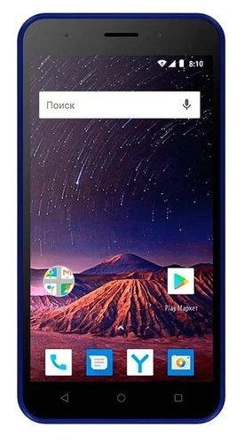Смартфон Vertex Impress Luck NFC 4G Синий фото