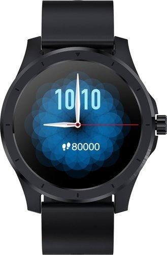 Умные часы Bakeey MX10, силиконовый ремешок, черный фото