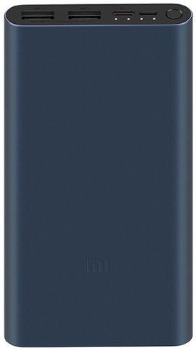 Внешний аккумулятор Xiaomi Mi Power Bank 3 10000 mah 18W Type-C PLM13ZM черный фото