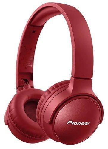 Наушники Pioneer SE-S6BN, красный фото
