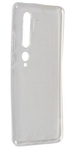 Чехол для смартфона Xiaomi Mi Note 10 Silicone iBox Crystal (прозрачный), Redline фото