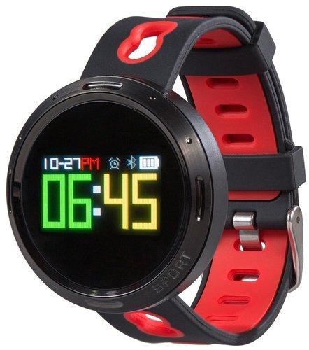 Умные часы Prolike с измерением давления, черно-красные PLSW4000R фото