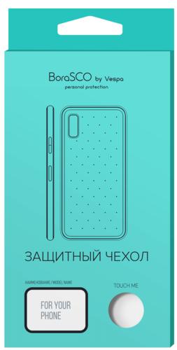 Чехол для смартфона Nokia 3.2 силиконовый (прозрачный), BoraSCO фото