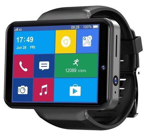 """Умные часы Ticwris Max S 2.4"""", черный фото"""