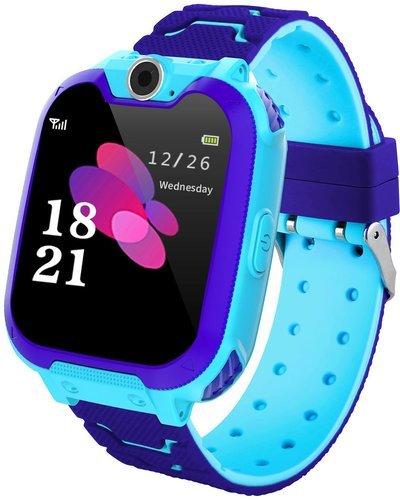 """Детские умные часы Bakeey S11 1.54"""", синий фото"""