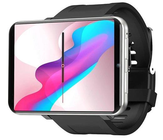 Умные часы Lemfo Lem T 3/32Gb, 4G-LTE, серебристый фото