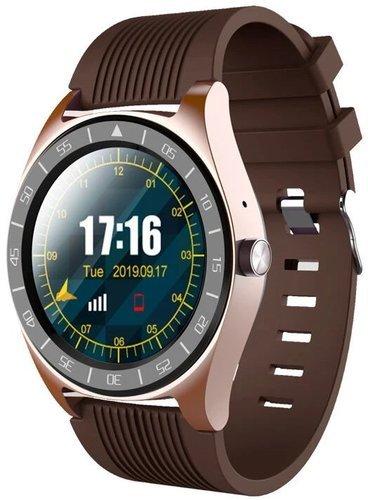 Умные часы Xanes V5, коричневый фото