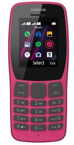 Мобильный телефон Nokia 110 Dual Sim (2019) Розовый фото