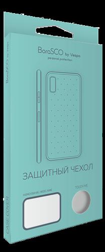 Чехол для смартфона Xiaomi Mi8, черный матовый, BoraSCO фото
